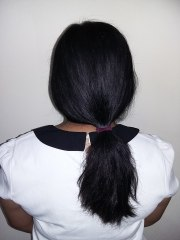 file girl with long black hair