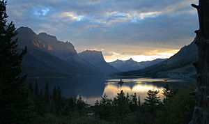 The Sunaet in Glacier National Park, Montana.