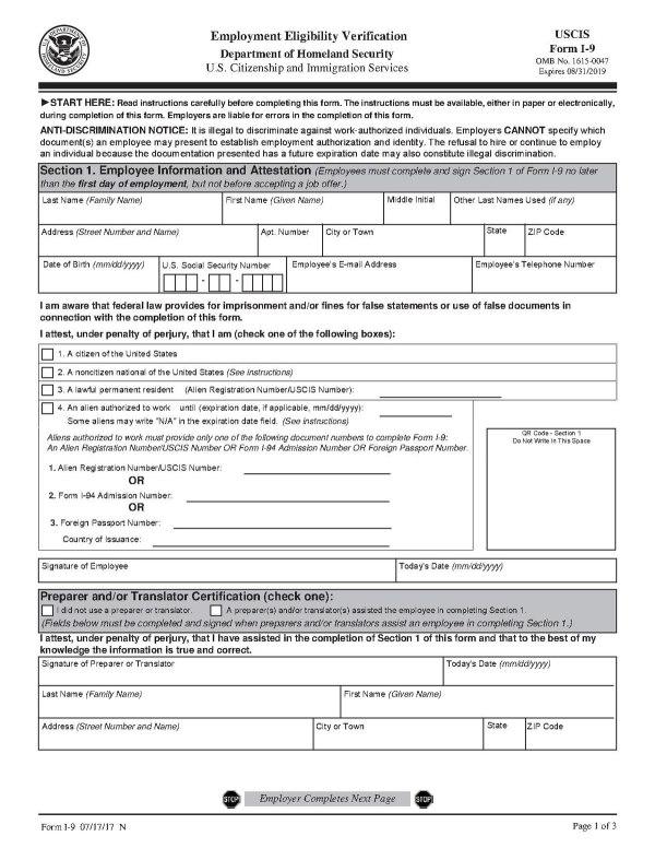 Form I9 Wikipedia