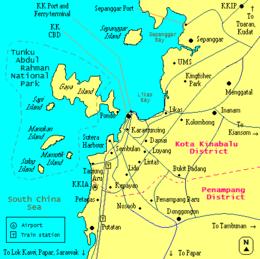 Gaya Island - Wikipedia