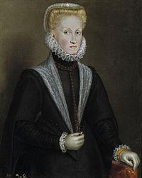 Anne D'autriche (1549-1580) : d'autriche, (1549-1580), File:La, Reina, Austria,, Sofonisba, Anguissola.jpg, Wikimedia, Commons