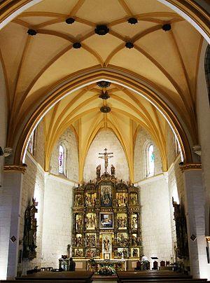 Cabecera de la Iglesia de San Lázaro, Palencia...