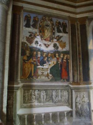 Santa maria del polpolo, pinturicchio 1