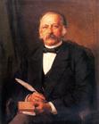Theodor Fontane, Gemälde von Carl Breitbach, 1883