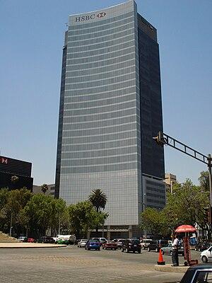 Español: Torre HSBC Ciudad de México.
