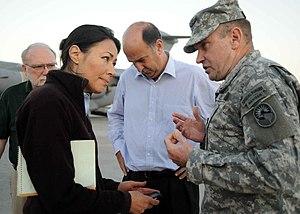 PORT-AU-PRINCE, Haiti (Jan. 15, 2010) Lt. Gen....