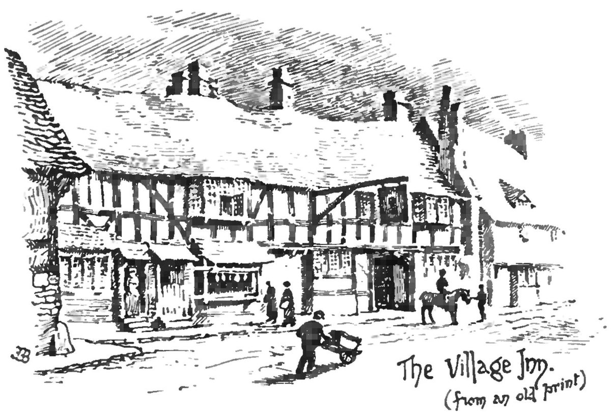 File:An Old English Home and Its Dependencies, The Village