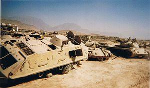 Blindados soviéticos destruidos en Afganistán (1)