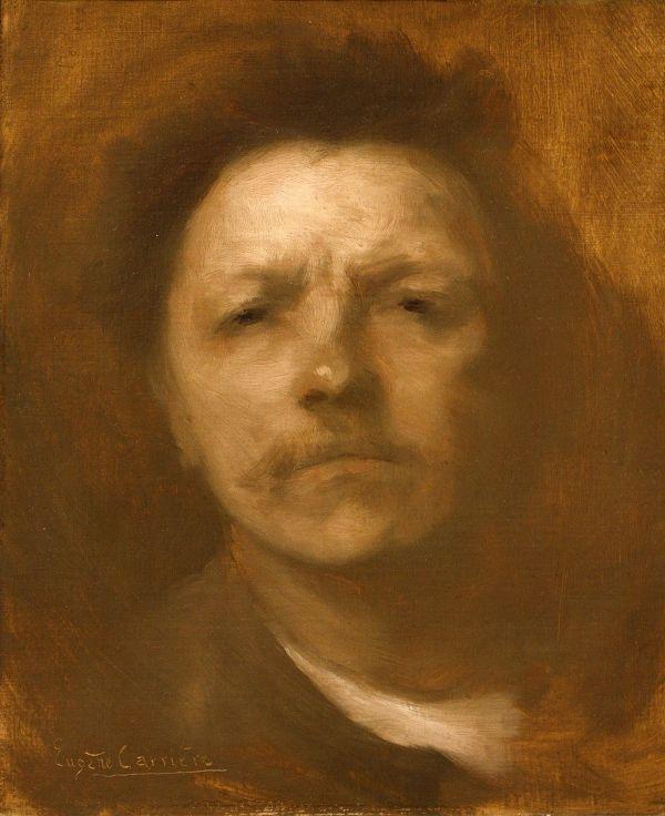 Eugene Carriere Self Portrait