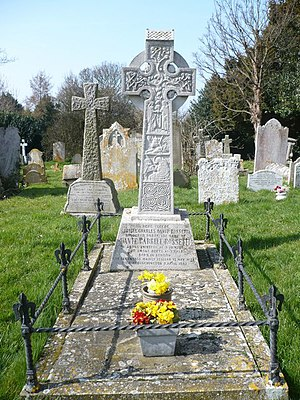 English: Grave of Dante Gabriel Rossetti. 1828...