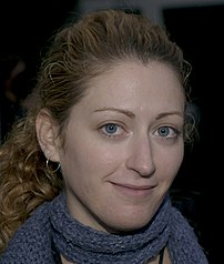 Jane McGonigal, game designer and games researcher, specializing in pervasive games and alternate reality games.