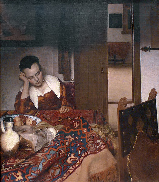 File:Johannes Vermeer - A woman asleep 1656-57.jpg