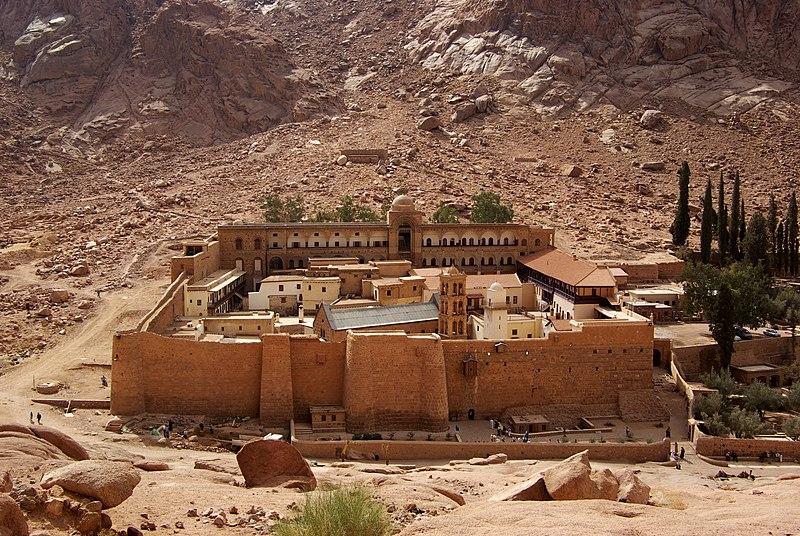 Archivo:Katharinenkloster Sinai BW 2.jpg