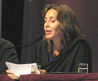 Mariela Castro addressing the Latin America plenary of the International Conference on LGBT Human Rights in Montreal, 28 July 2006