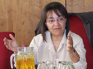 Patricia de Lille, South African MP, leader of...