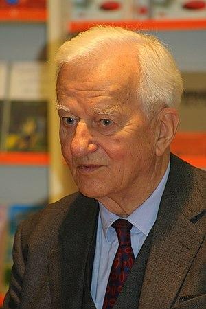 Former German President Richard von Weizsäcker...