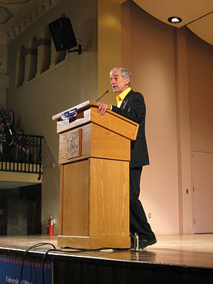 Ron Paul at the University of Pittsburgh