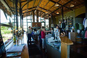 Stryker Sonoma Winery tasting room in Alexande...