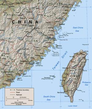 Estrecho de Taiwán