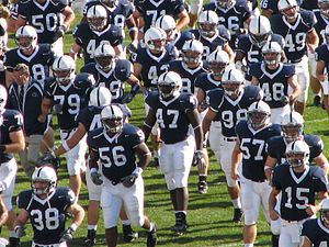 The Penn State Nittany Lions American football...