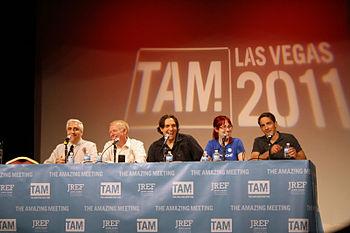 English: The Skeptics Guide crew at TAM 9 Las ...