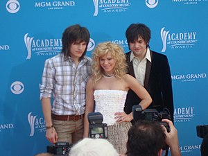 The Band Perry. Reid, Kimberly and Neil.