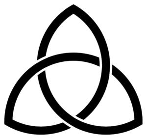 Triquetra-Vesica-solid