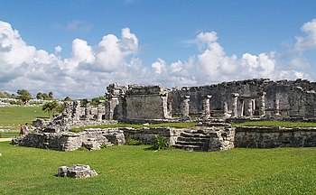 House of the Columns, Site of Tulúm, Quintana ...