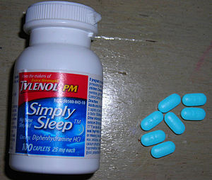 Tylenol simple sleep and pills
