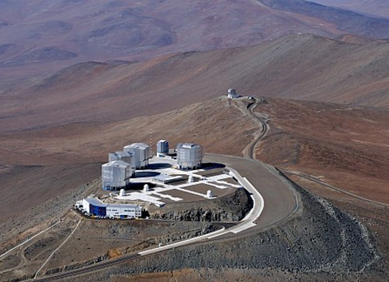 View of the Very Large Telescope