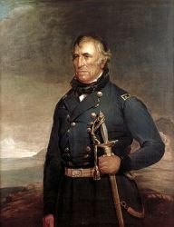 Official White House portrait of Zachary Taylor
