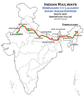 Secret Bases wiki • Avadh Assam Express