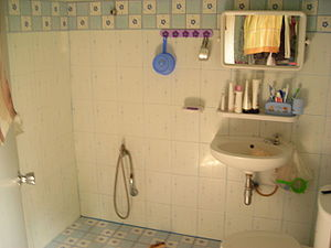 Private bathroom (Thailand).