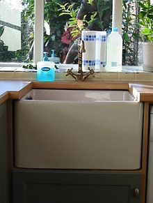 kitchen faucets with soap dispenser cabinet painting sink - wikipedia, the free encyclopedia