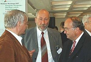 Deutsch: Bernhard M. Baron auf den 23. Weidene...