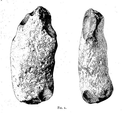 Los eolitos son herramientas de origen natural