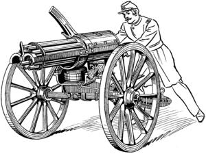 Gatling Gun (PSF)