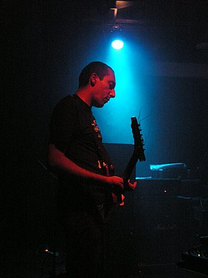 Oren Ambarchi of Gravetemple.