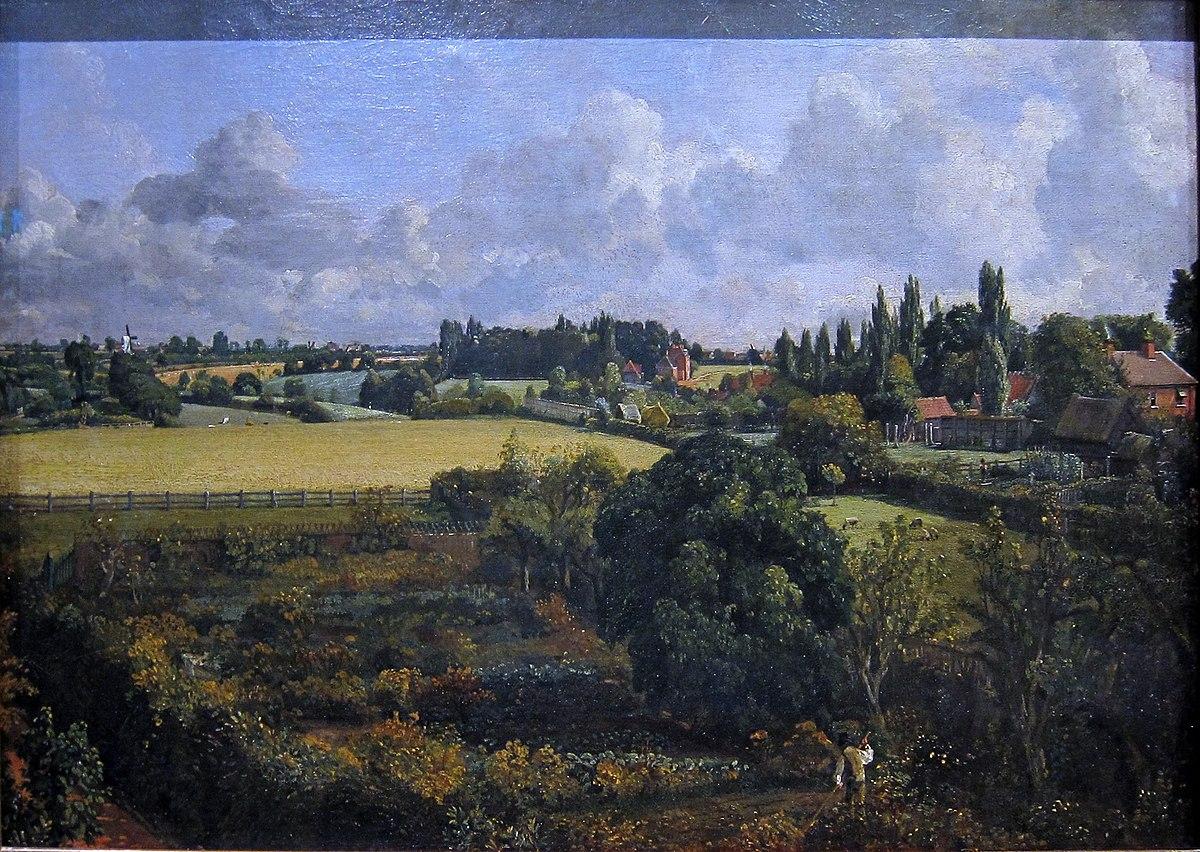 Golding Constable S Vegetable Garden Wikipedia