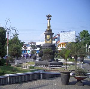 English: City monument of Jember, June 2008.