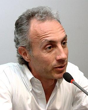 Italiano: Marco Travaglio a Trento per present...