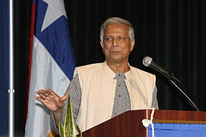 Muhammad Yunus in Houston