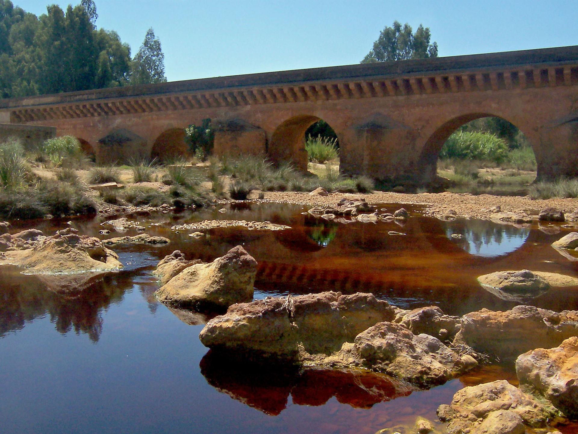Le pont de Niebla province de Huelva al-Andalus