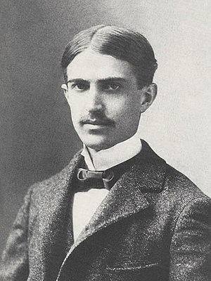 Formal portrait of Stephen Crane, taken in Was...