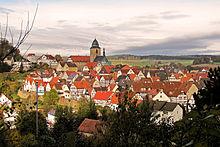Ortskern von Naumburg