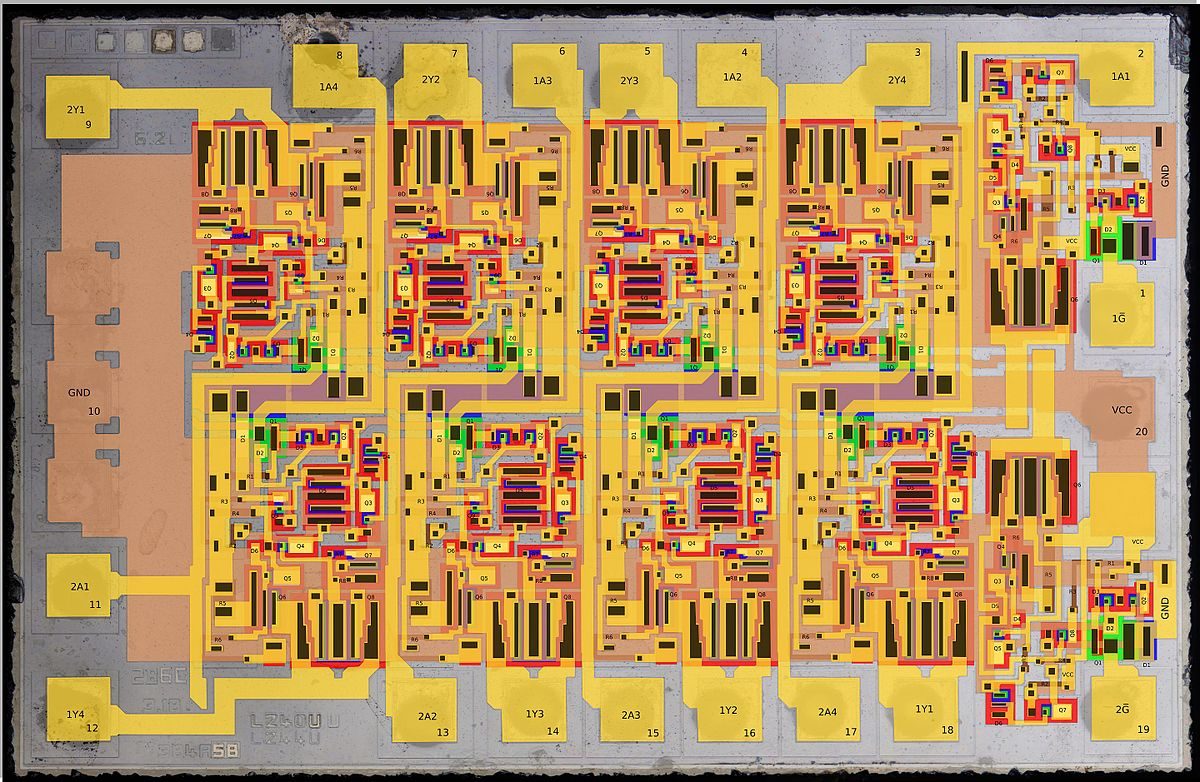 Integrated Circuit Wikipedia The Free Encyclopedia Search