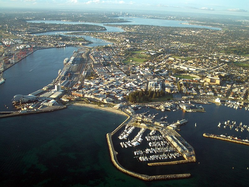 File:Aerial view of Fremantle.JPG