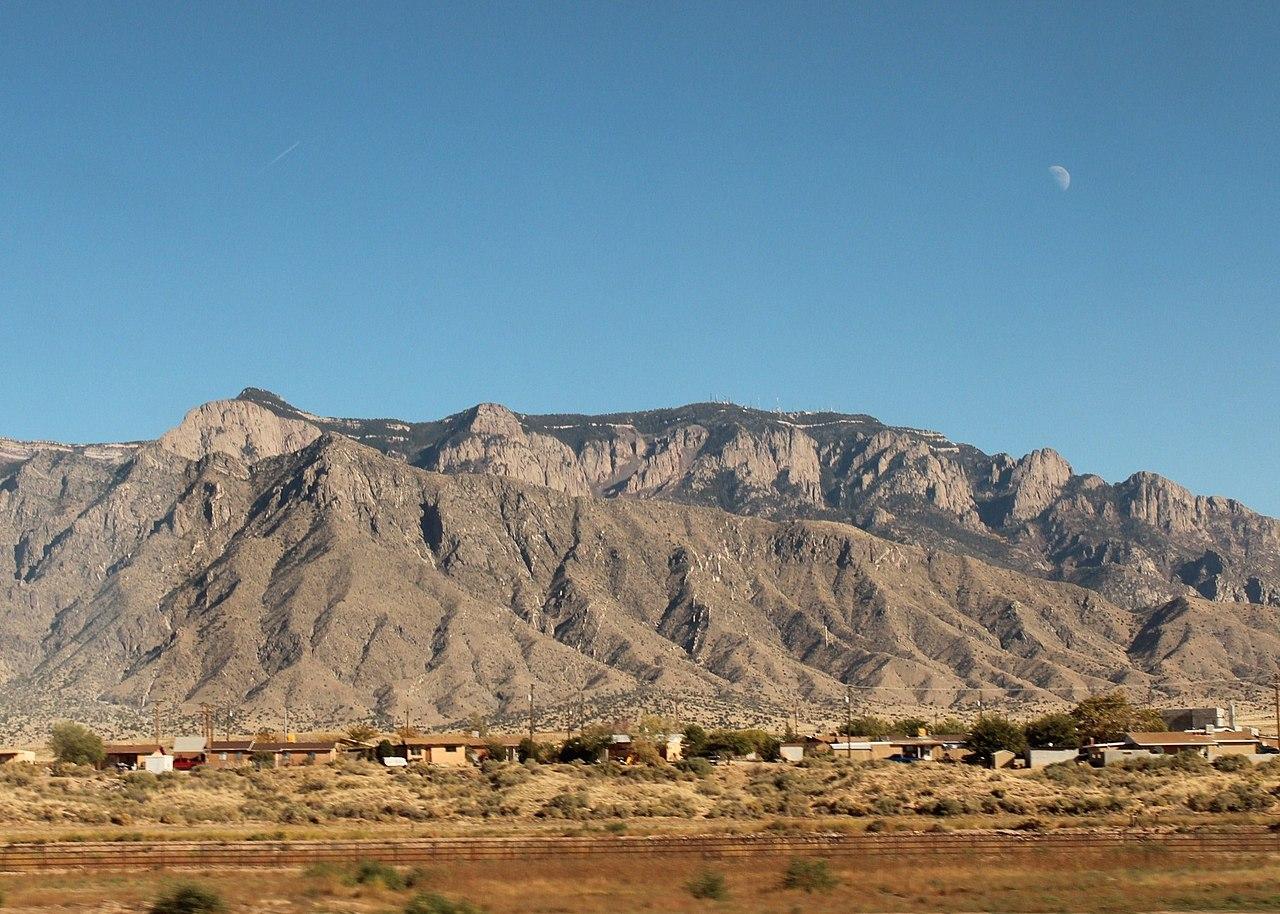 Sandia Albuquerque Mountains