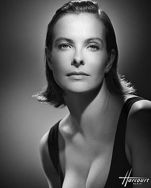 English: Carole Bouquet photographed by Studio...