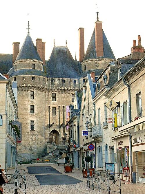 Château de Langeais et rue Thiers